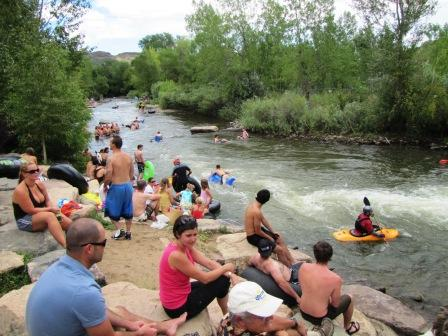Summer on Clear Creek